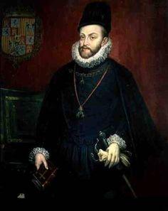 Description Portrait of Philip II (1527-1598), King of Spain