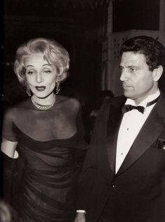 Marlene Dietrich and Italian actor/filmaker Raf Vallone at the Lido, Paris. Photograph by Daniel Frasnay from 'Les Girls' Golden Age Of Hollywood, Vintage Hollywood, Hollywood Glamour, Hollywood Stars, Classic Hollywood, Hollywood Party, Marlene Dietrich, Rita Hayworth, Kino Theater