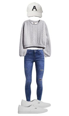 """Untitled #1061"" by yourmajestyjordine ❤ liked on Polyvore featuring New Look, Abercrombie & Fitch, H&M and Vans"