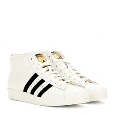 Adidas Pro Model Vintage Sneakers found on Polyvore
