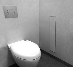 Toilet brush holder & niche   Easy Drain