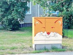(1) #toiminmuraalinvartijana - Twitter-haku / Twitter Mural Wall Art, Urban Art, Toy Chest, Street Art, Twitter, Photography, Home Decor, City Art, Photograph