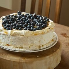 Blueberry & Desert Passion Pavlova