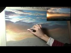 How to Paint a Sunset with Pastels - YouTube