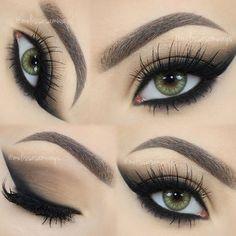 Cat Smokey Eyes!  Full TUTORIAL in my YouTube Channel  Link in my Bio!  ✨ Eyelashes TDotOooh @velourlashesofficial (use the code MELVELOUR for $$$ off) ✨ Contact Lenses @desioeyes Desert Dream  Cat Smokey Eyes!  TUTORIAL Link na minha Bio!  #MUA #MelissaSamways #Youtuber #Blogger #sigmabeauty #hudabeauty #vegas_nay #melformakeup #makeup #velourlashes #makegirlz #makegirlzvid #wakeupandmakeup #fashiondimes #1minutemakeup #makeupvideoss #makeupclips #toofaced...