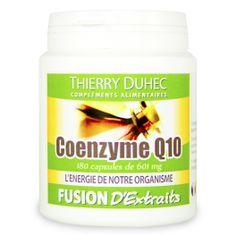 Fusion d'Extraits® Coenzyme Q10 - Thierry Duhec La boutique de Compléments Alimentaires