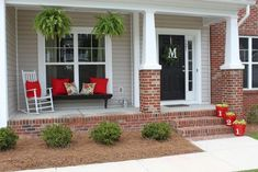 Vintage farmhouse porch ideas (74)