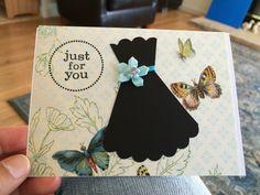 lbd handmade card