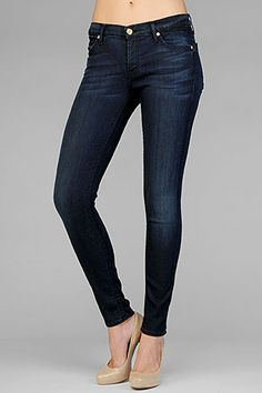 7 For All Mankind, SEVN-7144 THE SKINNY in Dusk Night Sky, 7forallmankind.com