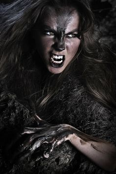 The wolf den: Werewolf - Werewolf body paint (michellemonique)
