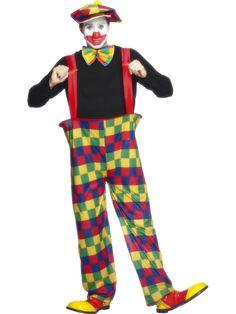 Disfraz De Payaso Con Pantalones De Aro Ancho €18.99