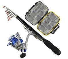 Fishing Rod Kit - Backpacking Ultralight Spinning Rod
