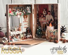 Toys Shop-ST.Nicholas- Lena Astafeva-products by Graphic 45-33