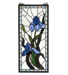 Meyda Tiffany 36073 Iris Stained Glass Window