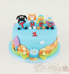 Timmy Time Cake - by littlecherry @ CakesDecor.com - cake decorating website