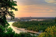 The View of the Dnieper in Kiev, Ukraine (by Roads Less Traveled Photography)