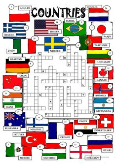 Countries worksheet - Free ESL printable worksheets made by teachers