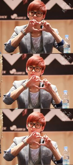 Hongbin - killing my noona heart slowly with his voice, adorableness*, hotness and dimpled smile.