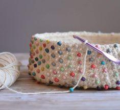 Crochet Vest Pattern, Crochet Purse Patterns, Bag Pattern Free, Crochet Purses, Beaded Purses, Beaded Bags, Crochet Hobo Bag, Crochet Bags, Crochet Baskets