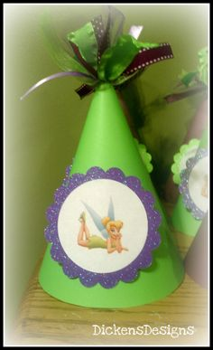 Tinkerbell Birthday Hat by DickensDesigns on Etsy, $4.00