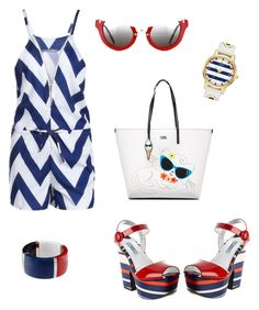 Let's have fun by aakiegera on Polyvore featuring polyvore, moda, style, Prada, Karl Lagerfeld, Kate Spade, Dolce&Gabbana, Miu Miu, fashion and clothing