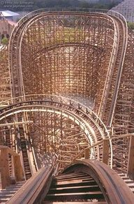 GET READY!!!!...................Roller Coaster: Viper at Six Flags Great America  Hurricane Harbor