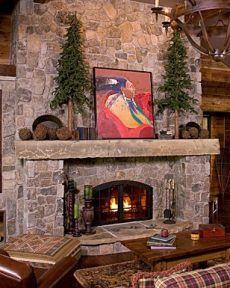Favorite Field Stone Fireplace Designs . . . Fields Of Dreams!