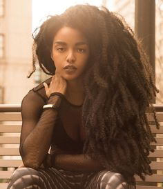Most Popular afro hairstyles for woman Super Long Hair, Big Hair, Your Hair, How To Grow Natural Hair, Long Natural Hair, Natural Beauty, Black Is Beautiful, Beautiful Women, Gorgeous Hair