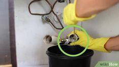 3 Ways to Unclog a Kitchen Sink - wikiHow Best Drain Cleaner, Kitchen Sink, Homemaking, Image, Diy, House, Home Economics, Bricolage, Home