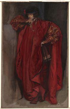 Edwin Austin Abbey - Iago, from Othello… Traditional Paintings, Traditional Art, John Waterhouse, Othello, Pre Raphaelite, Classical Art, Art Deco, Figurative Art, Les Oeuvres