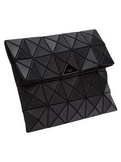 BAO BAO ISSEY MIYAKE - squares foldover clutch