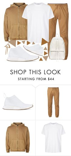 """""""🍪🍪🍪"""" by sanela-enter ❤ liked on Polyvore featuring adidas, Plugg, Magic Stick, Givenchy, Rick Owens, men's fashion and menswear"""
