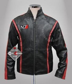- $145.00 Buy Mass Effect 3 Leather Jacket Casual for sale. Online Cheap N7 Shepard Jacket Replica at Celebs Clothing Store.