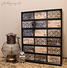Here's how to transform a plastic organizer from grungy to glam.