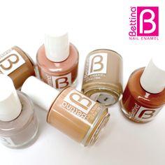 """Para todas las que nos fascinan los colores """"nude"""" o cremas, una inmensa variedad espera por ti!!! #NailEnamel #NailPolish"""