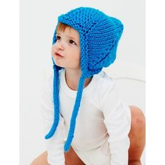 Free Easy Baby's Hat Knit Pattern