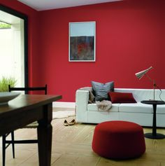 97 Best Living Room Paint Color Inspiration How Colors Enhance A Room 55 - homydezign Living Room Red, Paint Colors For Living Room, Living Room Decor, Living Spaces, Color Inspiration, Interior Inspiration, Red Paint Colors, Wall Colours, Interior Design Kitchen