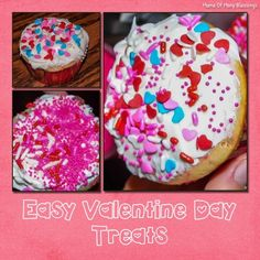 Simple Valentine Day Treats - Easy enough for toddlers to help make!