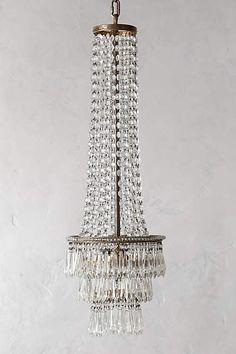 Crystal Minaret Chandelier - anthropologie.com #anthroregistry