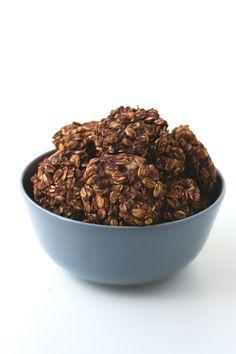 Galletas veganas de chocolate (5 ingredientes) | danzadefogones.com #vegan #vegano
