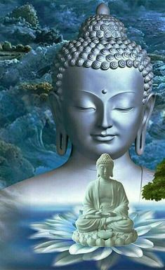 Buddha Purnima is the birthday of Gautam Buddha who was the founder of Buddhism. According to the belief, Lord Buddha is an incarnation of Lord Vishnu and Gautama Buddha, Amitabha Buddha, Buddha Buddhism, Buddha Tattoos, Hindu Tattoos, Symbol Tattoos, Tattoo Buddhist, Buddhist Art, Buddha Kunst