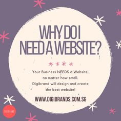 Still considering if your business needs a website? Here are 4 reasons why:  1. Improves B2C communication 2. Your website runs 24/7, even after working hours 3. Attract more customers 4. Provides an online catalog of your products and services  Contact us today to let us help you build your website!