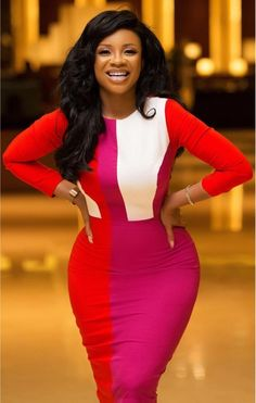 How to Look Classy Like Serwaa Amihere - 30+ Outfits in 2021 Classy Work Outfits, Office Outfits Women, 30 Outfits, Classy Dress, Everyday Outfits, Casual Outfits, Latest African Fashion Dresses, African Print Dresses, African Dresses For Women