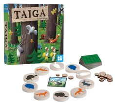 Taiga by FoxMind Games is a beautiful memory and deduction game for children with materials made of all natural wood and cotton. Players flip wooden disks to reveal the animals hidden below and must remember their findings. Puzzle Games For Kids, Board Games For Kids, Puzzles For Kids, Educational Board Games, Educational Toys For Kids, Kids Toys, Board Game Store, Lego Marvel's Avengers, Sports Toys