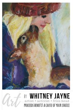 Painting of Chewie and Caitlin from Rancho Relaxo... an animal rescue santuary.  #babylamb #animalart #ranchorelaxo #farmart #lambart #cuteanimals #animalpainting #artwithacause #artforsale #artist #colorful #painting #giclee #artwork #artprint #DestinationConnectionProject