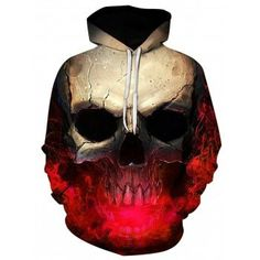 46b385797ab Hooded Pullover Hoodie  Fashion  Mens  Men  Red Unique Hoodies