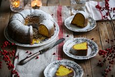 Slices of bundt cake by The Little Wild Apple on @creativemarket