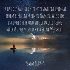 #Gott #Jesus #heiligerGeist #Sterne #Himmel #Weisheit #erde #schöpfer #macht #psalm #psalm147 #bibel #bibelvers #stewi Movie Posters, Movies, Instagram, Holy Spirit, Psalms, God, Earth, Heavens, True Words