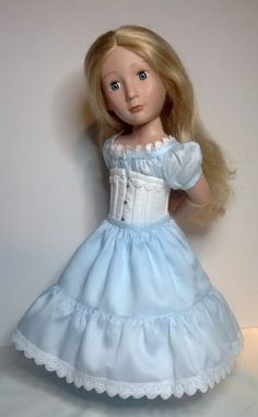 Here is a 5 piece unmentionables set made to fit a girl for all time girls Please note these will not fit the 18inch american girl doll If you would