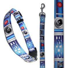 I fear that D will need to buy these: (23) Fab.com | Star Wars Collars & Leads